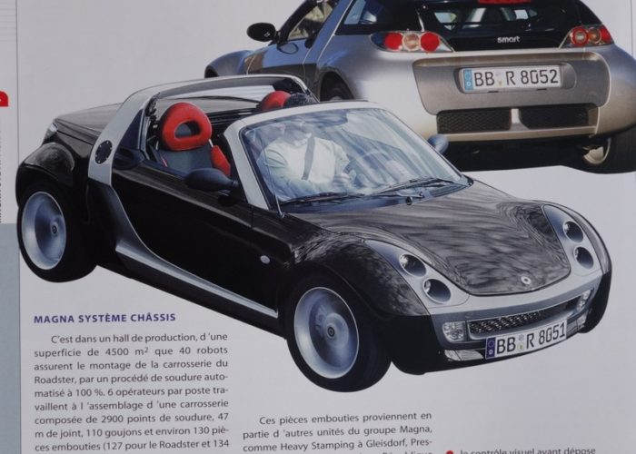 Smart Adventure, 1996 - 2004 - The Smart-Roadster