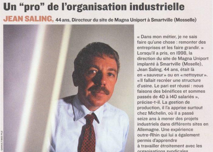 Magna Uniport Smartville, Jean Saling, Diagnostic & Strategy